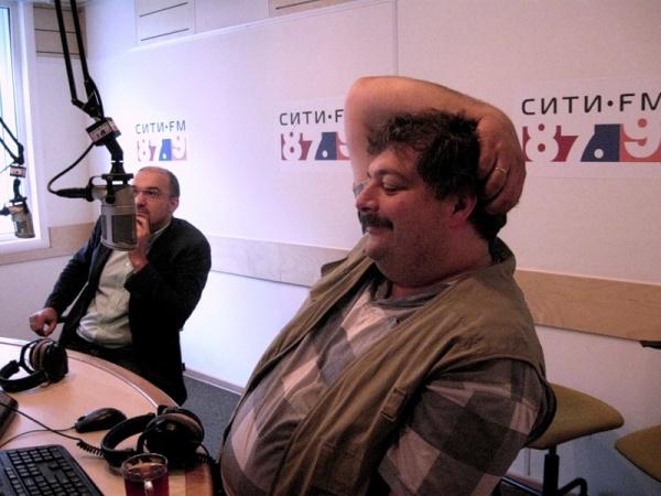 Andrey Miroshnichenko and Dmitry Bykov.