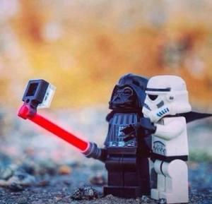 Selfie Dart Lego