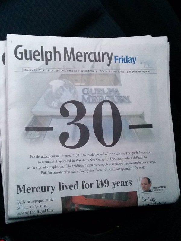 Guelph Mercury 30