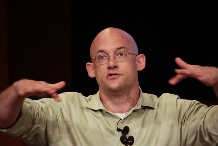 "Clay Shirky: ""You can play this game too."""
